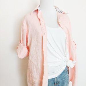 Ralph Lauren Pink Linen